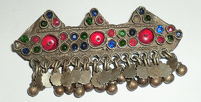 Vintage Brass Antique Ethnic Tribal Traditional Afghan Kuchi Hairclip Brooch?