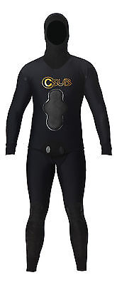Csub 3Mm Manu Titanium Lined Freediving Spearfishing Wetsuit