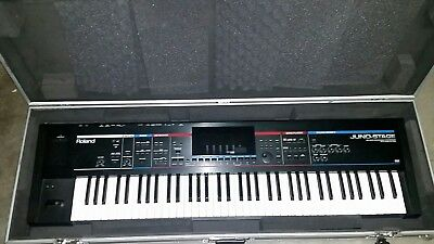 Roland Juno Stage & Flight Case