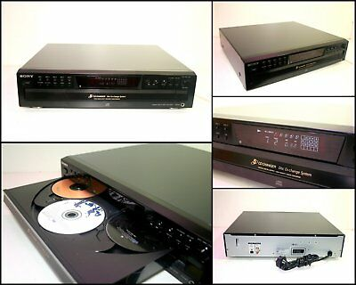 SONY CDP-CE375 5 Disc CD Changer Player (Digital Output)