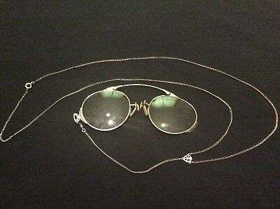 Antique Folding Spectacles 1/10 12k Gold Filled