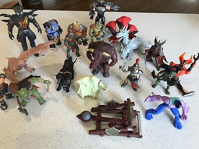 ELC Early Learning Centre Temple Of Doom, Papo, & assorted fantasy figurines  20