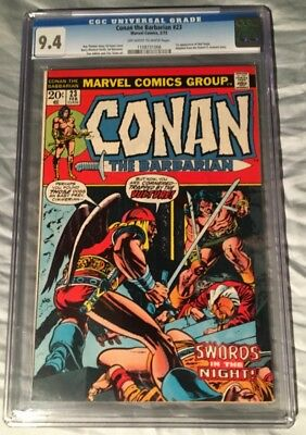 Conan the Barbarian #23 1st Red Sonja CGC 9.4 NM (1973 Marvel)-Movie coming!