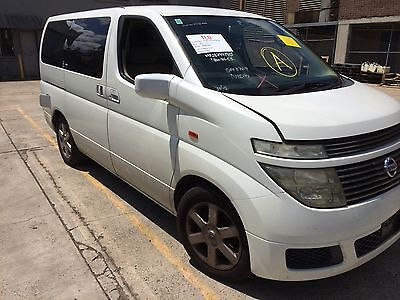 nissan elgrand parts wrecking e50 elgrand vq35de engine body parts