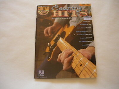 COUNTRY HITS: Guitar Tuition music book. Hal-Leonard Vol. 76 HL00699884