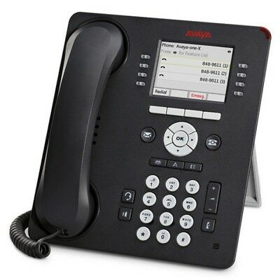 Avaya 9611G VoIP IP Telephone Handset - Black