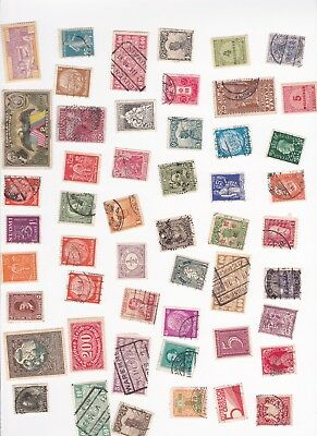 World Stamps 200+ Early 20th Century  Old Collection Used