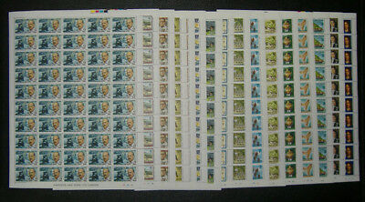 Christmas Is 1976 Fam Visitors Set of 16 1c - $2 SHEETS of 50 MNH (800 stamps)