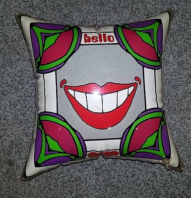Vintage Psychedelic early 1970`s  Peter Max Blow up pillow
