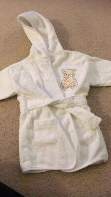 Baby Dressing Gown 3-6 Months - New