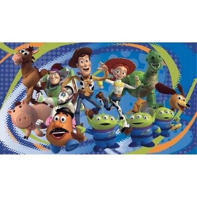 RoomMates-Toy Story 3 Chair Rail Prepasted Mural 6' x 10.5' - Ultra-strippable
