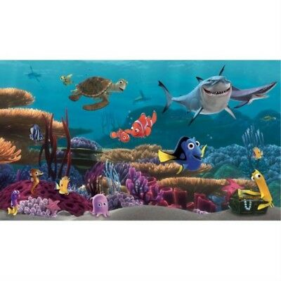 RoomMates-Finding Nemo Prepasted Mural 6' x 10.5' - Ultra-strippable-3487803358