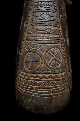 Early Kundu Drum - Sepik River New Guinea 1950's