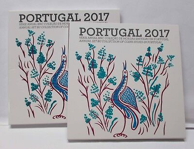 """Portugal 2017, """" KMS 1 Cent bis 2€ """""""