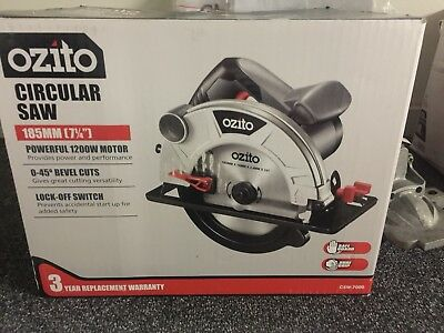 Circular Saw -Ozito ...used For 1 Project