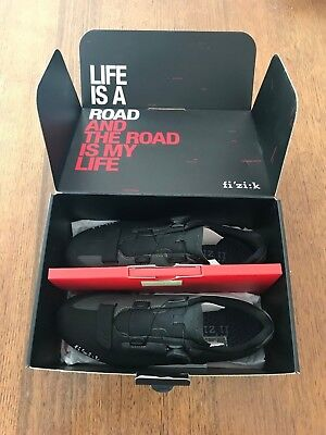 CYCLING SHOES Fi'zi:k R5 Black/Grey size 43 EU as new