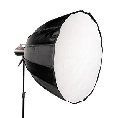 Deep Para 120cm Easy-Open Parabolic Softbox Bowens S Fit Zeepelin Focus Light