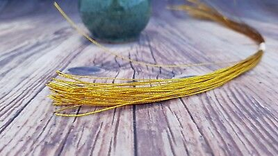 Cake Wire 28 Gauge 50PK - GOLD or SILVER Floral Wire, Crafts ChappCakes Decor