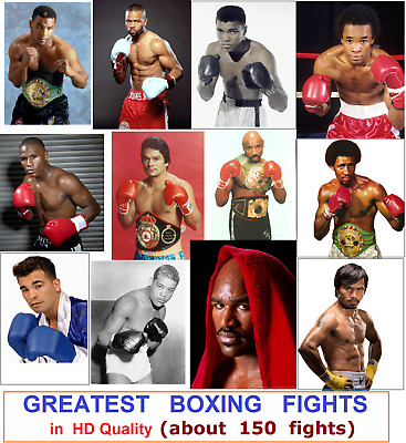 Greatest BOXING Fights. High quality .  About 150 FIGHTS.