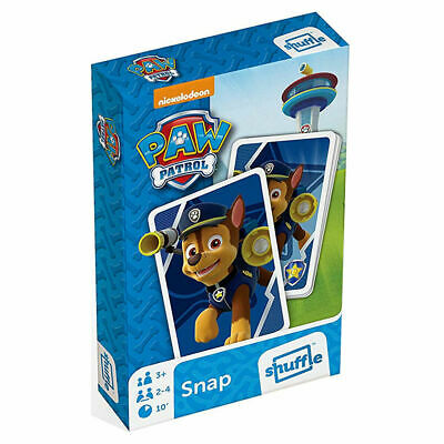 Cartamundi Paw Patrol Snap Card Game - Playing Cards for 2 Players or More