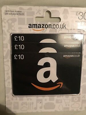 Amazon £30 Gift Card Voucher Code Shopping