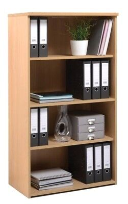 BiMi © Wooden Bookshelf ✔ Office Bookcases in Beech, Maple, White, Oak, Walnut