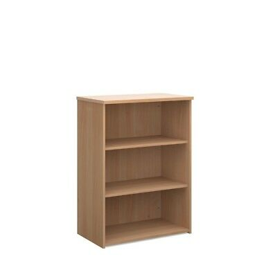 Office Bookcase Open Short BookShelf In Beech, Maple, White, Oak, Walnut BiMi ©