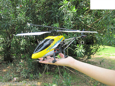 New Yellow Length 39CM Remote Control Plane Helicopter Model Gift Children Toys