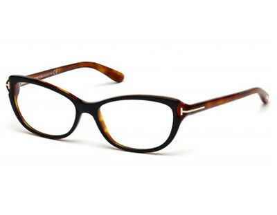 a19158fe30a90 NEW TOM FORD TF 5286 005 BLACK HAVANA EYEGLASSES AUTHENTIC RX FRAMES FT5286  52mm