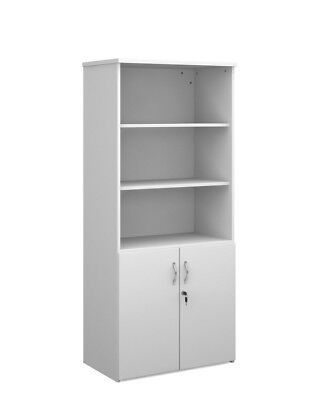 Tall Combination Unit Bookcase Cupboard Beech, Maple, White, Oak, Walnut BiMi ©