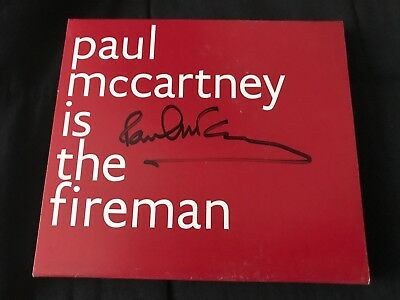 Paul McCartney is the Fireman SIGNED BY PAUL, Electric Arguments. AUTOGRAPHED