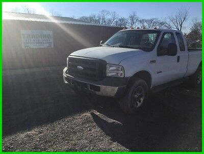 2005 Ford F350 4X4 Ext Cab Diesel Pickup Truck! No Reserve