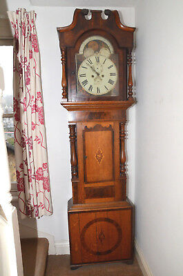 A Welsh Grandfather Clock, by Parry of Tremadoc.
