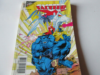Marvel .reliure   Facteur X..6. Version Integrale  ..comics  Semic ....