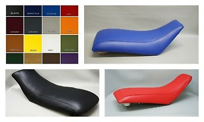 HONDA TRX400X Seat Cover  in RED 2-TONE HONDA SIDES or 25 COLORS