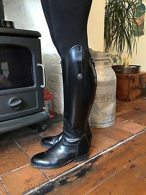 Regali Ricci 500 long soft leather riding boots.UK8 EUR42 extra wide calf