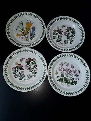 Portmeirion Botanic Garden Side Plate's Used X 4