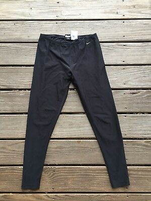 Nike Alpha Project Black Athletic Leggings Womens Size Large (12-14)