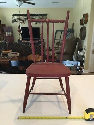Vintage Red Child's Chair