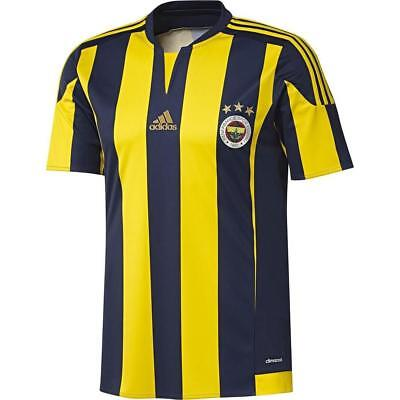ADIDAS BOYS JUNIOR Fenerbahce Home Shirts SIZE 7-16 YEARS