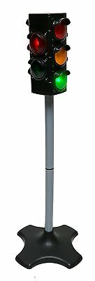 Toy Traffic & Crosswalk Signal with light & Sound - 4 sided, over 2 feet tall