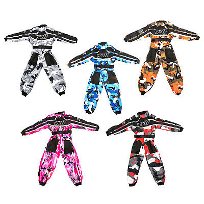 Wulfsport RaceSuit Kid Child Race Suit Motocross MX Karting Quad Pit Dirt Bike