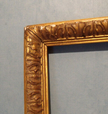 Large Vintage Shabby Chic Antique Style Gilt  Picture Frame (H37)