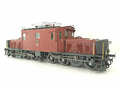 Dingler 1 Gauge Electric Locomotive seetalkrokodil with 5 SBB Wagons +