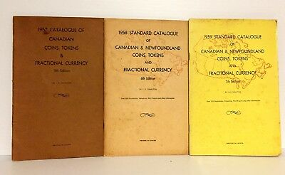 Charlton: 1955-1957 Catalogue of Canadian Coins, etc: 5th-7th Editions