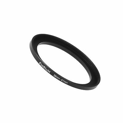 Fotodiox Metal Step Up Ring Filter Adapter, Anodized Black Aluminum 58mm-67mm...
