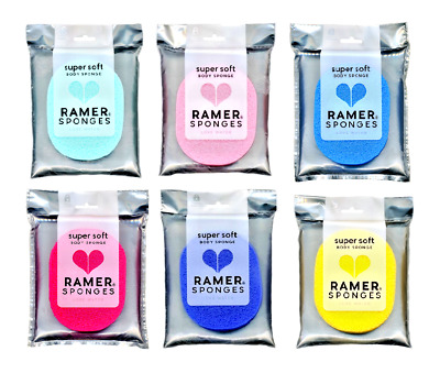 RAMER SPONGES SUPER SOFT Body Sponge Love Water. UK SELLER