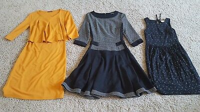 Lot of 3 Dresses, Loft, Serge XXSP, XS, S