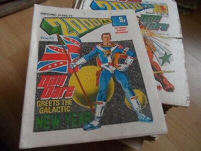 2000AD COLLECTION over 500 issues between progs 45-1000 vgc most new or as new