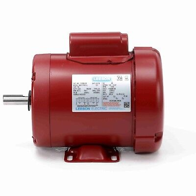1.5hp 1725rpm 56hz Frame 115/208-230 volt Leeson Farm duty motor 110089